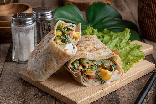 Green Salad Wrap