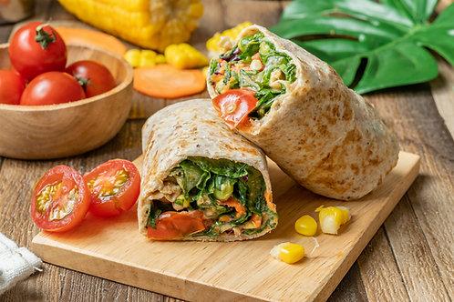 Mukimame Salad Wrap