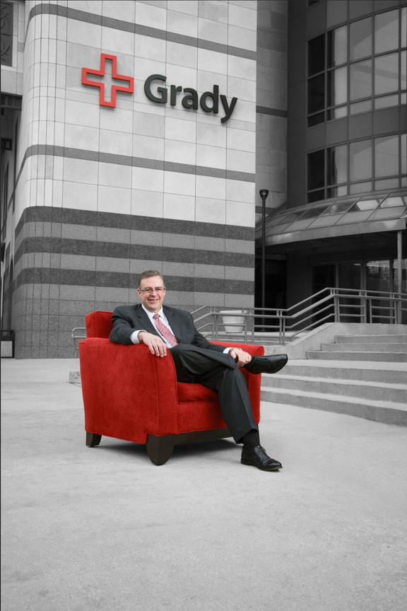 John Halpert CEO Grady Health System