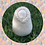 Womb Dreamer fertility doll felted in white colours