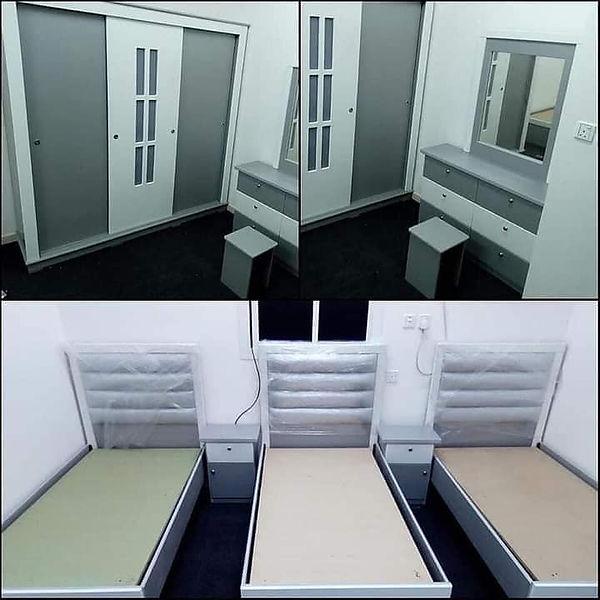 للبيع غرف نوم تفصيل فخمة
