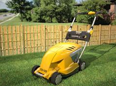 Lawnmower range sold in Argos.