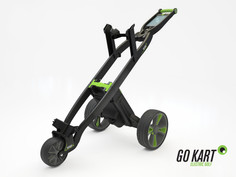 Development and facelift of the Go Kart golf trolley. Version 2
