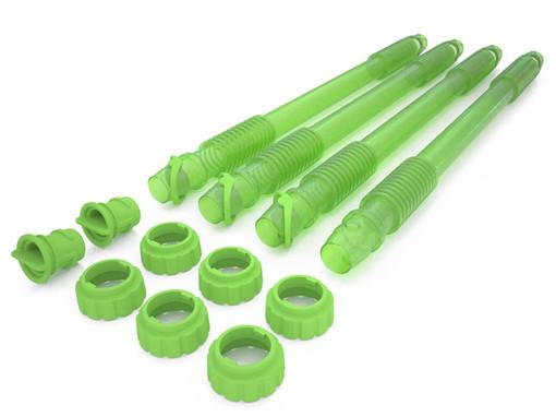 Rainwater Terrace blow moulded flexible drain tube taps for Rainwater Terrace water butts.