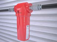 Domnick Hunter Oil-X Evolution filter system.