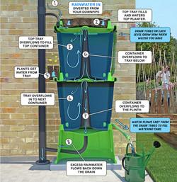 How a Rainwater Terrace works