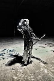 Statua Vivente Mirror Man