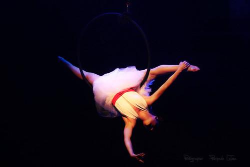 Danza aerea, cerchio aereo