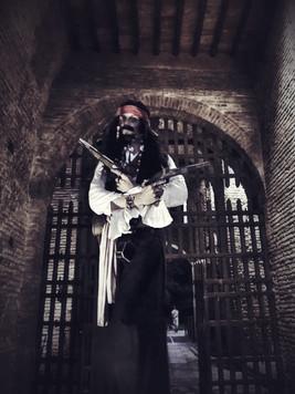 Statua vivente Jack Sparrow