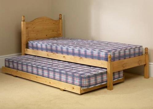 Orlando 3ft Bed Frame & Trundle Set