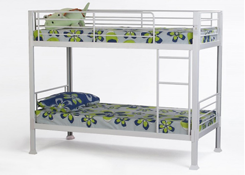 No Bolts Bunk Bed with Mattresses