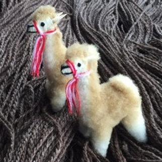 Miniature Standing Alpaca