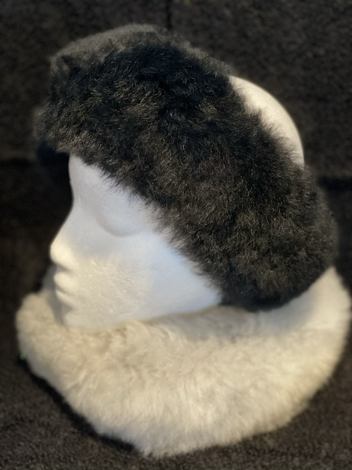 Alpaca Fur Headband