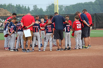 12u travel baseball team in grand rapids michigan