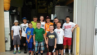 travel baseball team in Rockford, Michigan