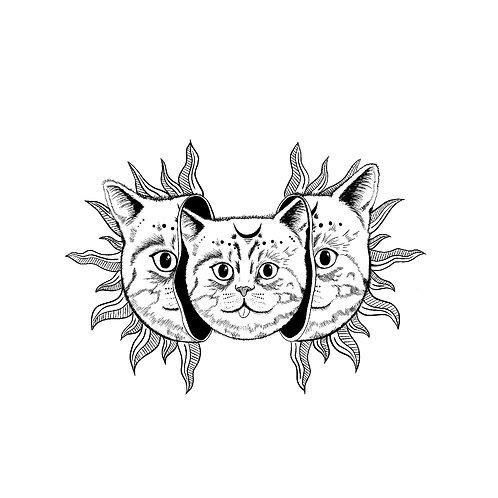 Celestial Kitty Cat