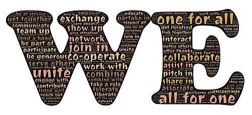 we noi collaborazione unione team condivisione