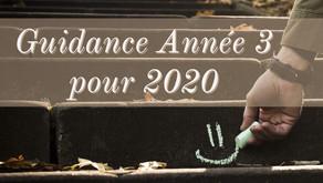 Guidance numérologique de 2020 pour les personnes en Année 3️⃣💬🗣💫✨