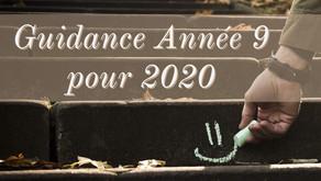 Guidance Numérologique pour 2020 de l'Année 9️⃣🌌🧭🧹🌊