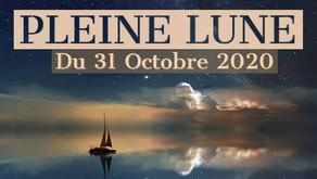 Pleine Lune du 31 Octobre 2020 en Taureau
