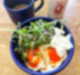 Labneh with Eggs