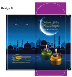 Hari Raya Packet Design & Print