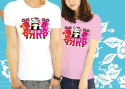 Panda cute t-shirt (adult)