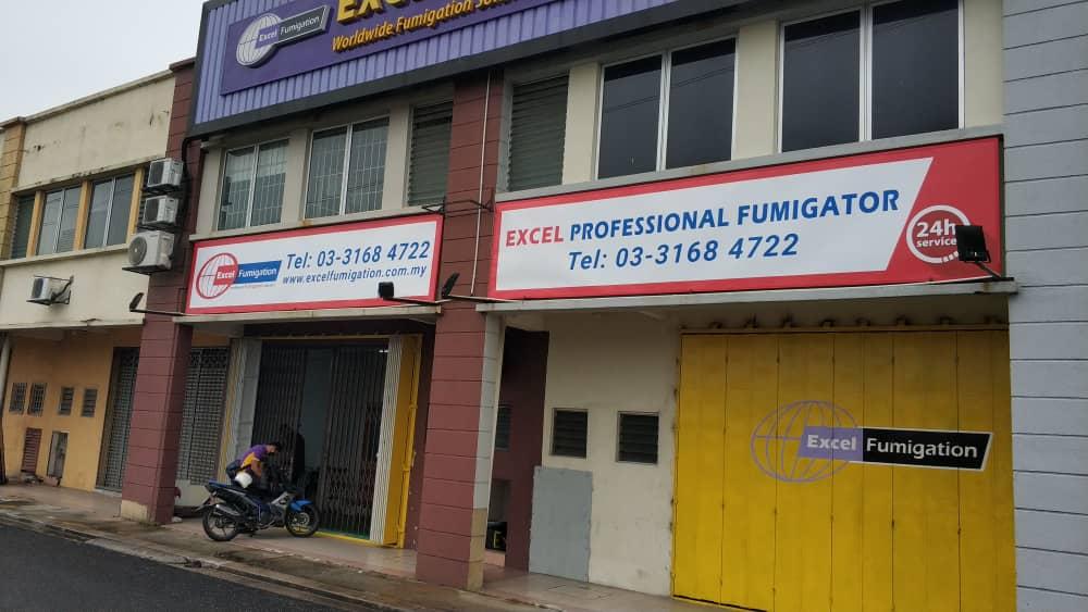 Excel Fumigation Signage