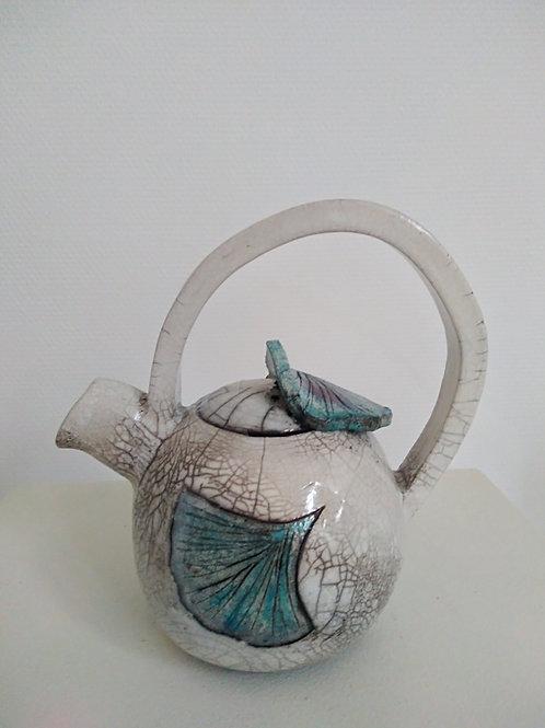 Théière en céramique raku Sandrine Sueres