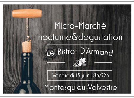 Rendez-vous au Micro-Marché du bistrot d'Armand !
