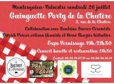 Guinguette Party le 26 juillet