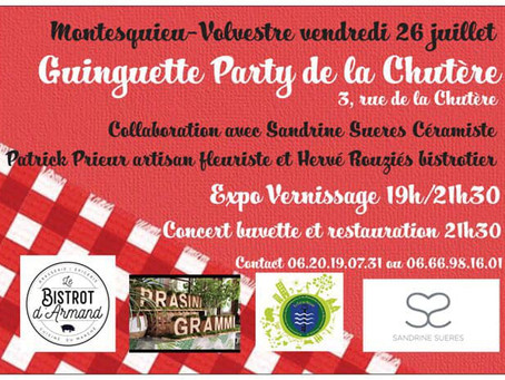 Guinguette Party le 26 juillet