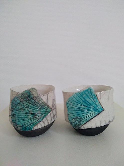 Tasse en céramique raku Sandrine Sueres