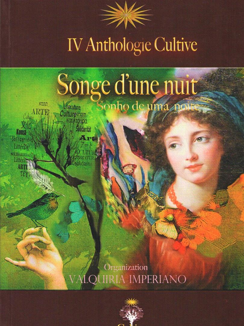 Sonho de uma noite - IV Anthologie Cultive - bilíngue português e francês.