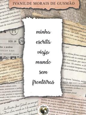 Capa do livro Minha Escrita Viaja mundo sem fronteiras.jpg