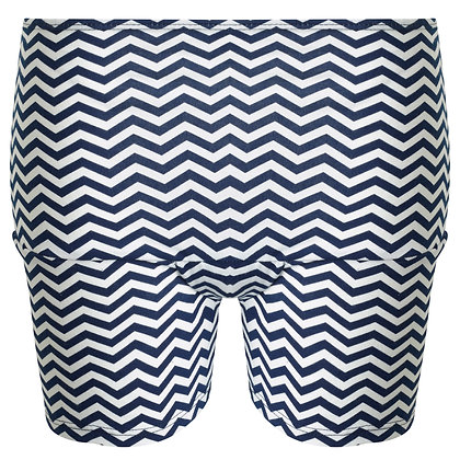 Period Loungewear Sleep Boyshort | Navy Maze