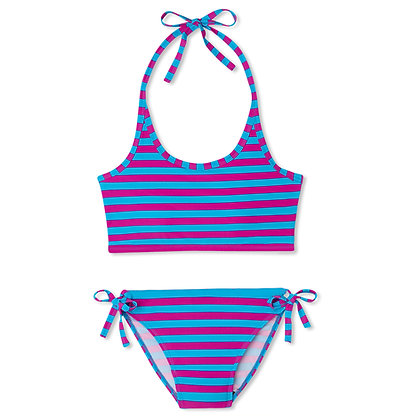 Period Swimwear Tank Set | Wild Berry