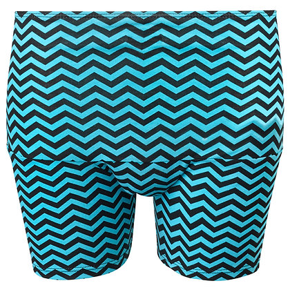 Period Loungewear Sleep Boyshort | Aqua Maze