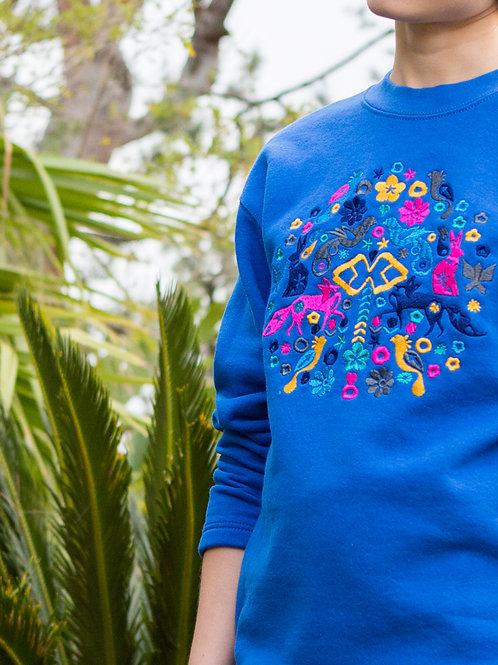 LIESEL Embroidered Sweatshirt