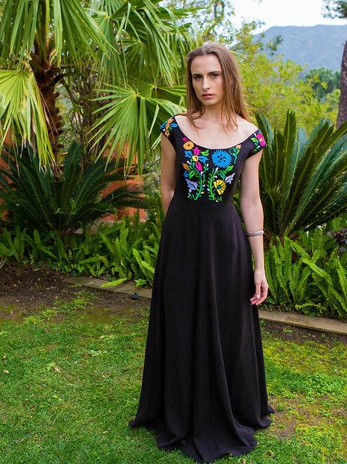 ROSINE Embroidered Maxi Dress