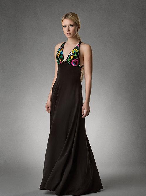 ROSINE Cross Back Maxi Dress