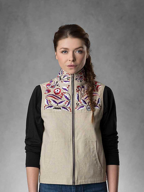 EMERA Embroidered Vest