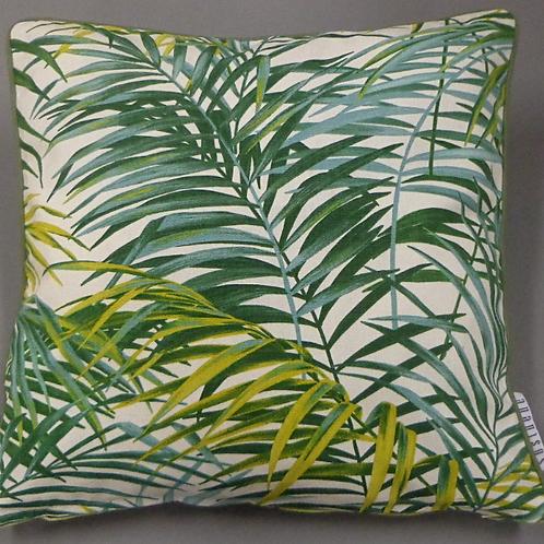 Kissenbezug Ebony Palmen grün