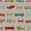 Thumbnail: Kissenbezug WELTREISE 30 x 50 cm