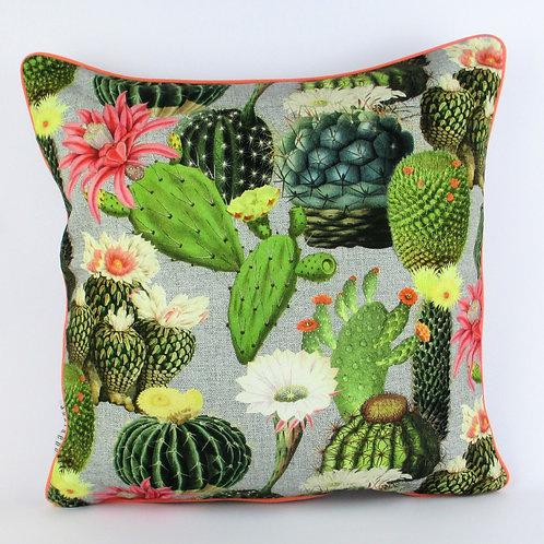Kissenbezug Kaktus, gross, grün