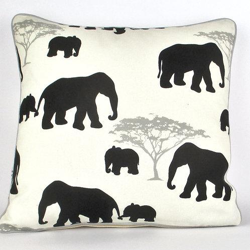 Kissenbezug Maharaja Elefant schwarz