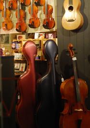 Gamme d'étuis et d'instruments