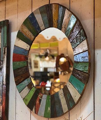 Miroir Bois Recyclé