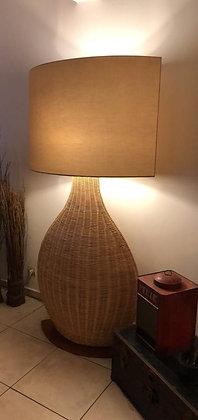 Lampe Rotin Guadeloupe