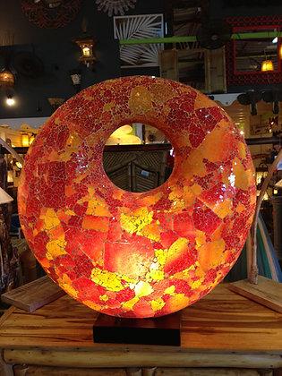 Lampe mosaïque Donut